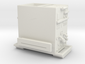 1/64 Philadelphia ALF Engine pump section in White Natural Versatile Plastic