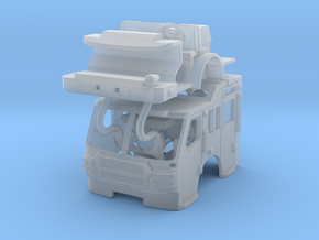 1/160 E-One QUEST raised roof cab in Smooth Fine Detail Plastic