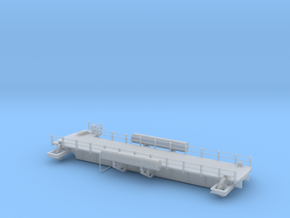 Locomotive turntable bridge for N in Smooth Fine Detail Plastic
