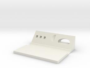 Tableware stand in White Natural Versatile Plastic