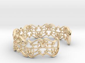 "Bracelet ""fluent"" in 14K Yellow Gold: Small"