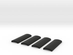 Praco-Bolsey grips in Black Premium Versatile Plastic