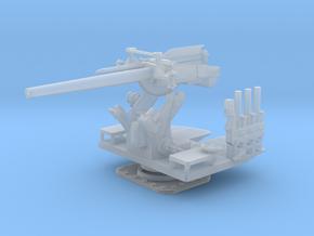 1/30 5 inch 25 (12.7 cm) Deck AA Gun KIT in Smooth Fine Detail Plastic