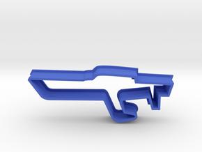 Boat Cookie Cutter in Blue Processed Versatile Plastic