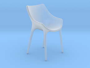 Miniature Cassina Passion Chair - Cassina in Smooth Fine Detail Plastic: 1:12