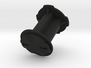 Garmin Edge Male Mount to Quad Lock Male Adapter 3 in Black Natural Versatile Plastic
