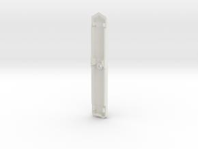 1:60 VF-31 Missile Pod - Bottom Shell (x1) in White Natural Versatile Plastic