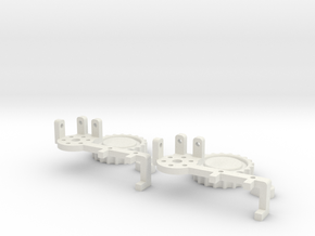 AT-AT Clock Arm x2 in White Natural Versatile Plastic