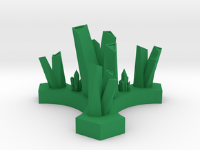 Breen Control Node in Green Processed Versatile Plastic