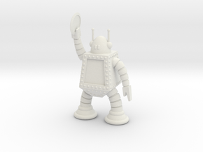 Nuggbot in White Natural Versatile Plastic