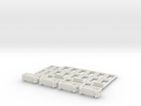 HOea401 -  Architectural elements 5 in White Natural Versatile Plastic