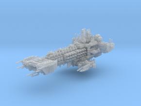 Thorwald Battleship in Smooth Fine Detail Plastic