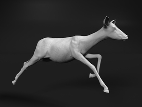 Impala 1:64 Running Female in Smooth Fine Detail Plastic