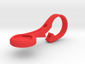 Wahoo Elemnt Out Front Aero Mount in Red Processed Versatile Plastic
