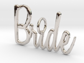 Bride Pendant in Platinum