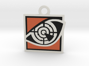 Pulse Charm (Rainbow 6 Siege)  in Full Color Sandstone