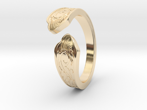 Reversal Ring (Dark Souls 3) in 14K Yellow Gold: 5 / 49