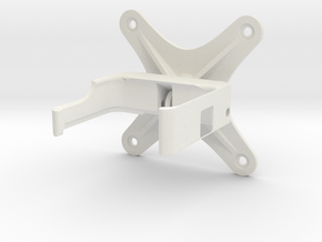 Go Pro Camera mount in White Natural Versatile Plastic