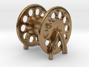 1/72 USN Rope Reels small in Natural Brass