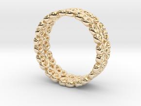 "Bracelet ""Bloom"" in 14K Yellow Gold: Small"