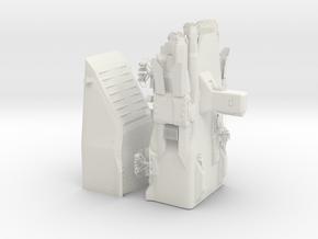 1/72 First Order Troop Transport in White Natural Versatile Plastic