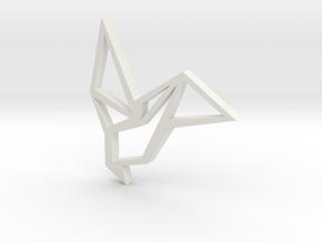 Raven Necklace in White Natural Versatile Plastic