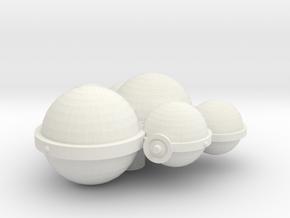 3788 Scale Koligahr Patrol Scout MGL in White Natural Versatile Plastic