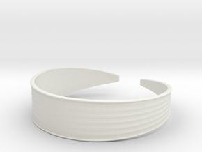 Inverting Lines in White Natural Versatile Plastic