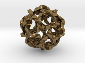 Knot Berry in Natural Bronze (Interlocking Parts)