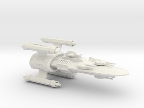 Hyborean Orkney Strike Cruiser in White Natural Versatile Plastic