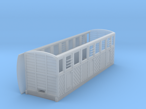 RAR composite coach 3 doors/side in Frosted Ultra Detail: 1:43.5