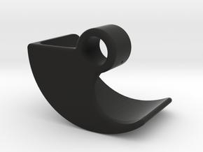 Boosted Fender [Set part 3 of 4] Front-RIGHT-V2.0 in Black Natural Versatile Plastic
