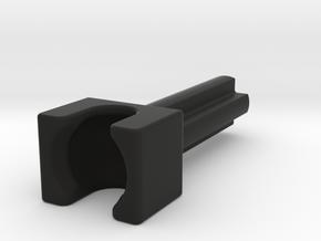 Mixel Socket w/ 2M Cross Axle in Black Natural Versatile Plastic