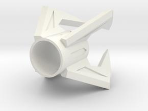 Kyberlight Robert in White Natural Versatile Plastic