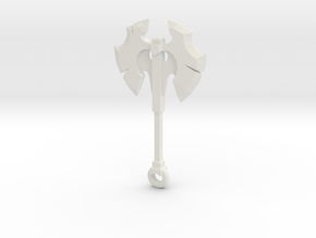 Battle fury DOTA 2 pendant in White Premium Versatile Plastic