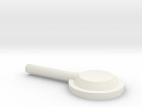 Racal Head Set Ear Part in White Strong & Flexible