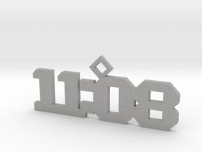 11:08 necklace in Aluminum