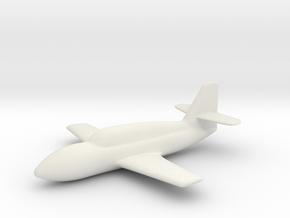 Messerschmitt Me 328 V1 (1:144) in White Natural Versatile Plastic