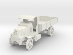 PV26A Mack Bulldog Model AC (28mm) in White Natural Versatile Plastic