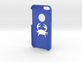 IPhone 6s Cancer Case in Blue Processed Versatile Plastic