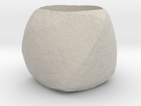Ring size 7 in Natural Sandstone: Medium