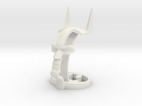 Batman Headphone Stand in White Natural Versatile Plastic
