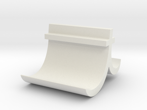 T Business card holder in White Natural Versatile Plastic