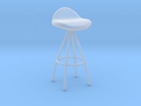 Miniature Onda Barstool - Stua in Smooth Fine Detail Plastic: 1:12