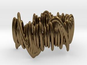 Moonlight Sonata (Ring) in Polished Bronze: 5 / 49