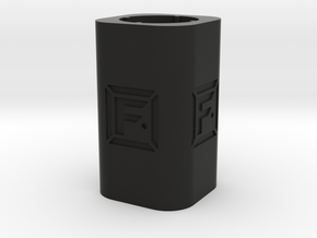 DIY Frebird Desktop Pencil Holder in Black Natural Versatile Plastic