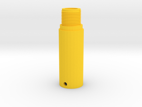 Scorpion vz. 61 Barrel Adapter (14mm-) in Yellow Processed Versatile Plastic