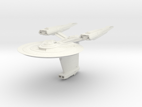Federation Parker Class  HvyDestroyer in White Strong & Flexible
