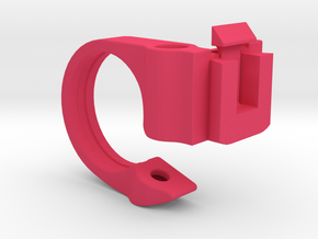 SRM Handlebar Mount 25.4mm in Pink Processed Versatile Plastic