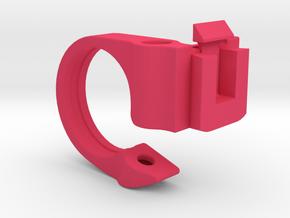 SRM Handlebar Mount 25.4mm in Pink Processed Versatile Plastic